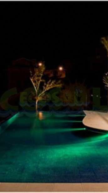 Foto Iluminação de piscinas com LED